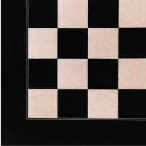 Deluxe Black Anegre & Erable Chessboard 55mm