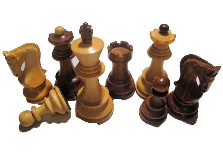 Zagreb Chess Pieces Sheesham NEW LOW PRICE